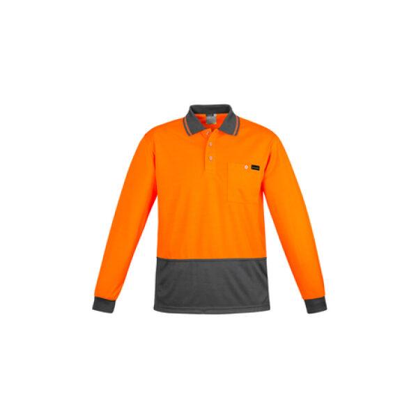 ZH410 OrangeCharcoal F