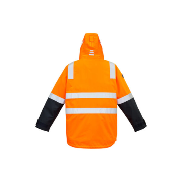 ZJ532 OrangeNavy Back