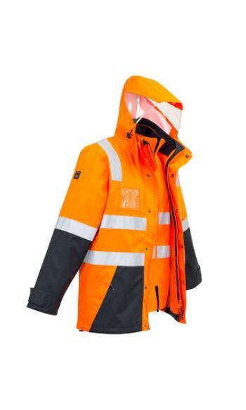 ZJ532 OrangeNavy FrontSide