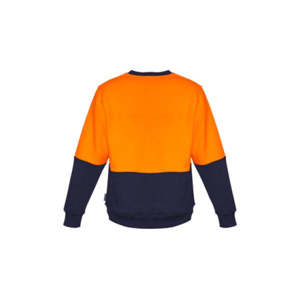 ZT465 OrangeNavy Back