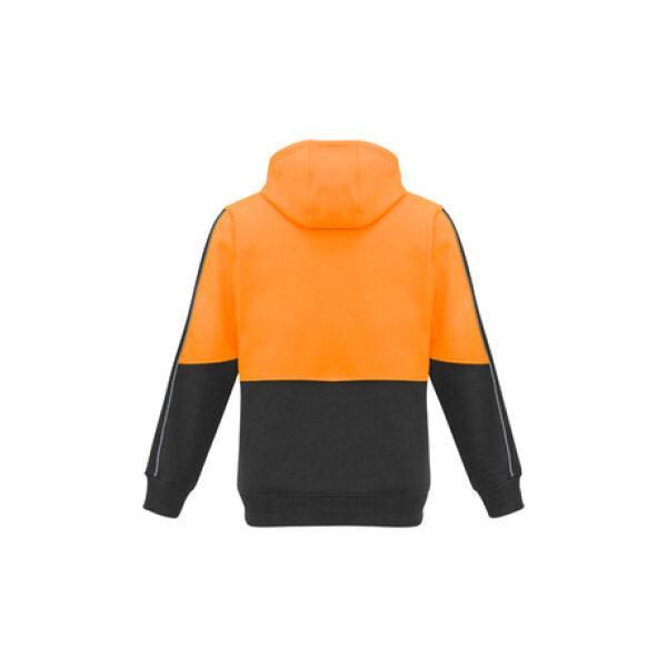 ZT481 OrangeCharcoal Back