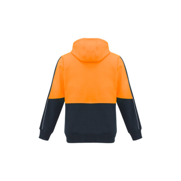 ZT481 OrangeNavy Back