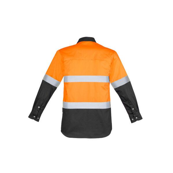 ZW123 OrangeCharcoal B