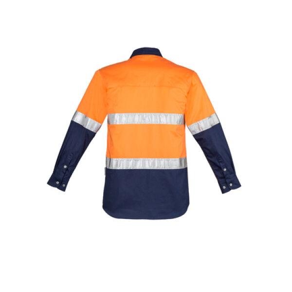 ZW123 OrangeNavy B