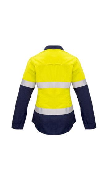 ZW131 YellowNavy Back