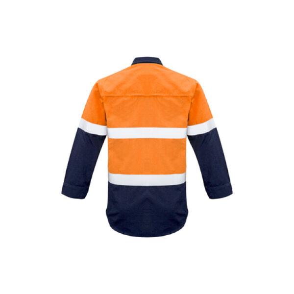ZW132 OrangeNavy Back