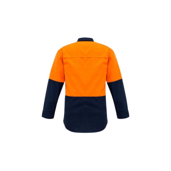 ZW138 OrangeNavy Back