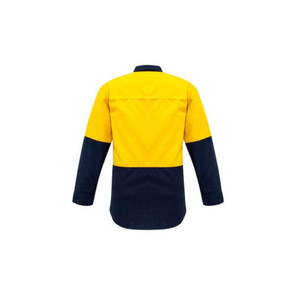 ZW138 YellowNavy Back