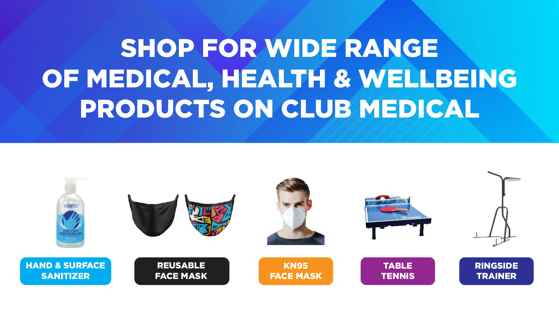 Club Medical and Sports Centre Banner