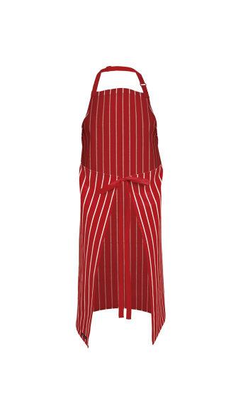 JBs Striped Apron Without Pocket