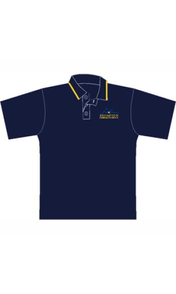 Brompton PS Custom polycotton polo shirt