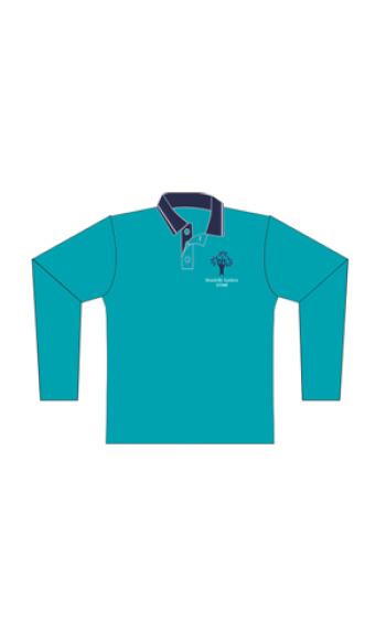 WGS Long Sleeve Polo