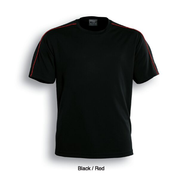 CT0694 BLK RED