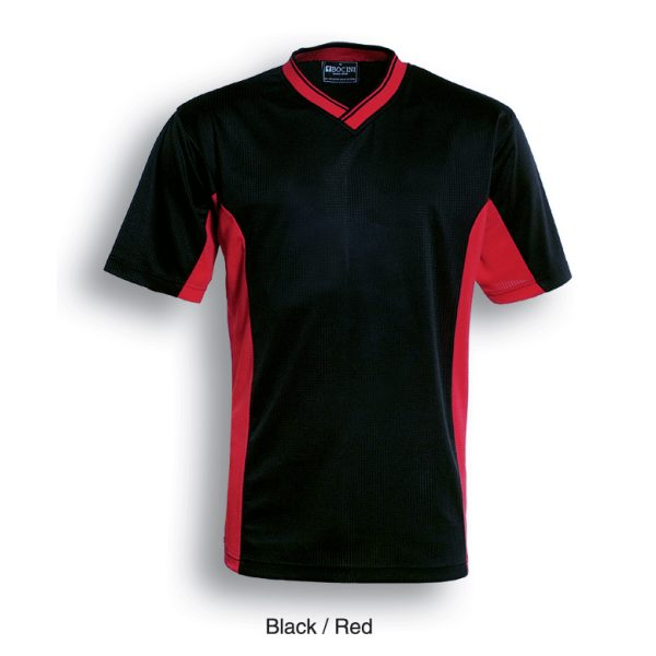 CT838 BLK RED