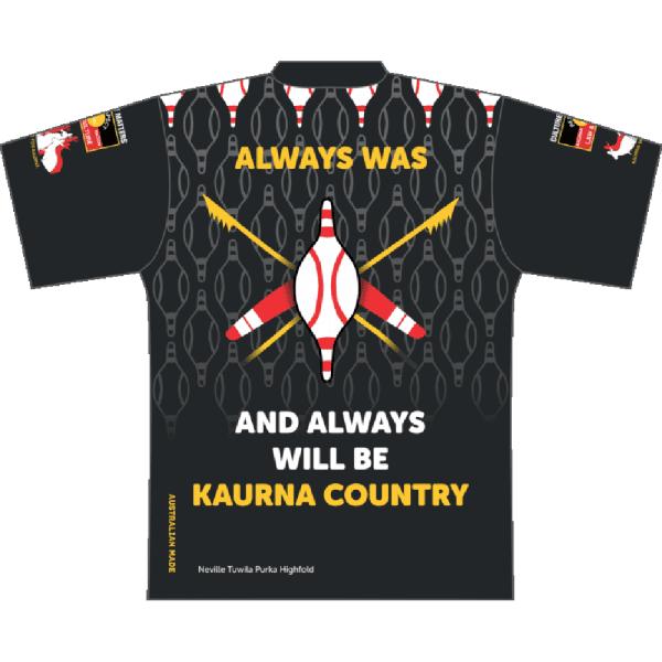 Kaurna Country Polo Design 3 Back