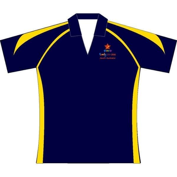 Premier polo Navy gold