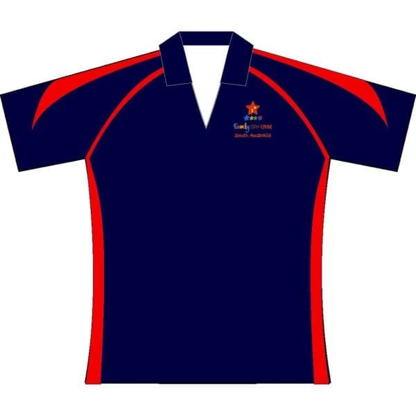 Premier polo Navy red