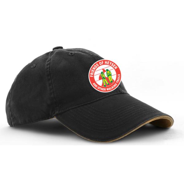 black khaki cap