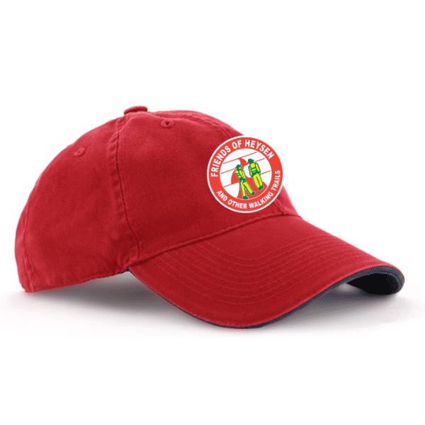 red navy cap