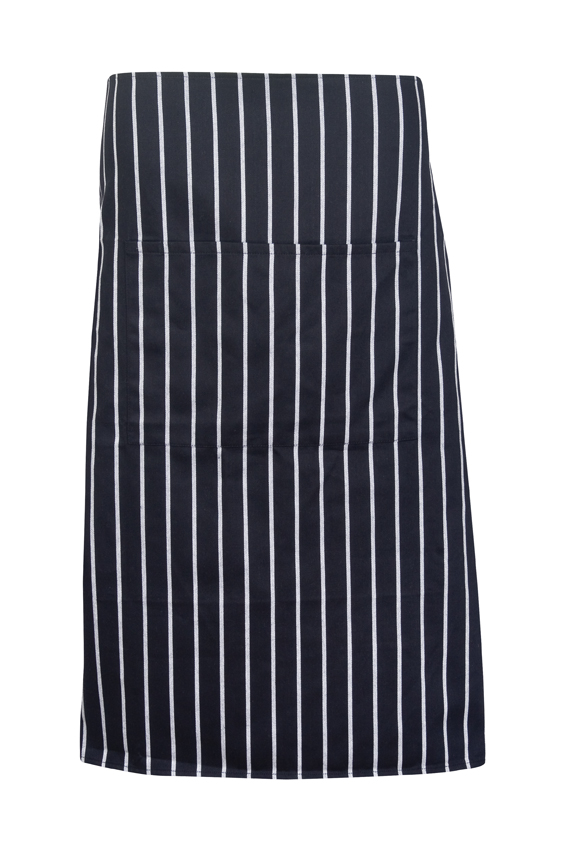 Striped Apron - Full-waist