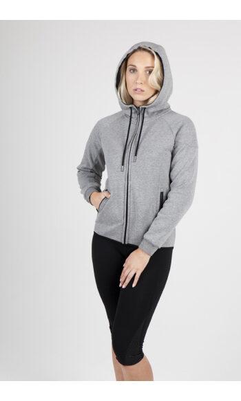 Ladies/junior 320gsm Soft cotton/bonded polar fleece Hoodie