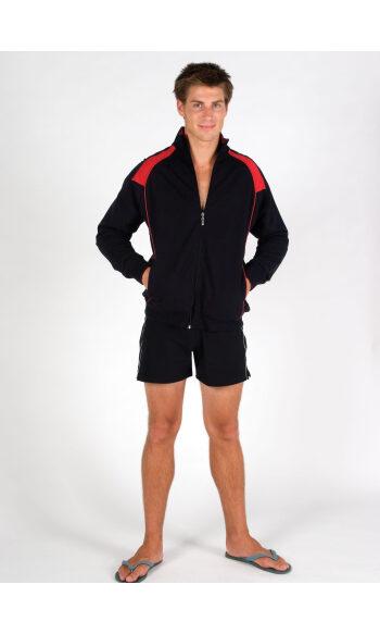 Mens' Unbrushed Contrast Jacket