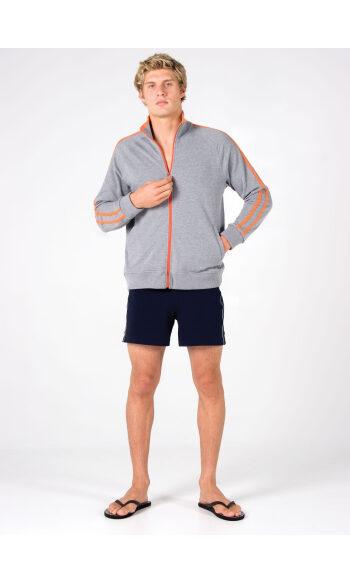 Mens Unbrushed Fleece Sweater