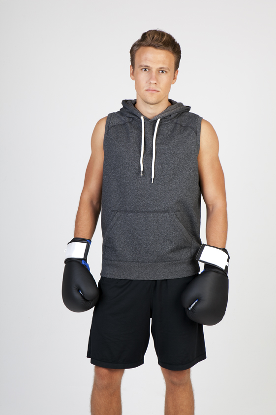 Men's Heather Sleevees Hoodies - Greatness Range