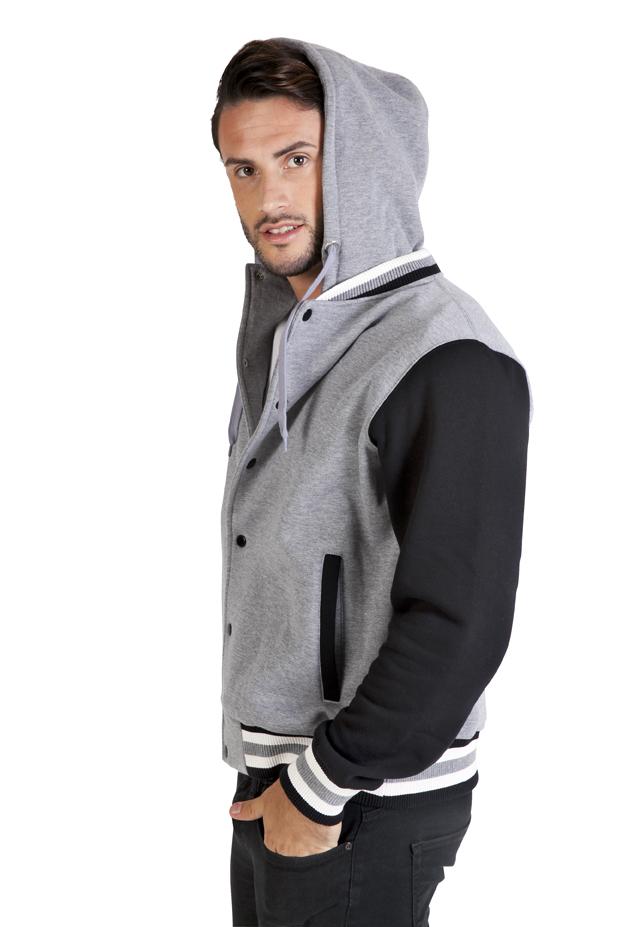 Men's Varsity Jacket & Hood