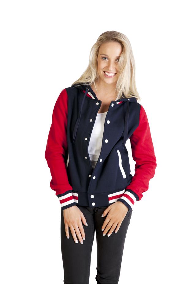 Ladies Varsity Jacket & Hood
