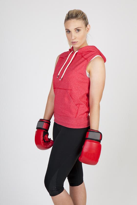 Ladies/Junior Heather Sleevees Hoodies - Greatness Range