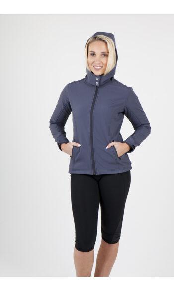 Ladies Soft Shell Hoodied Jacket - Tempest Range