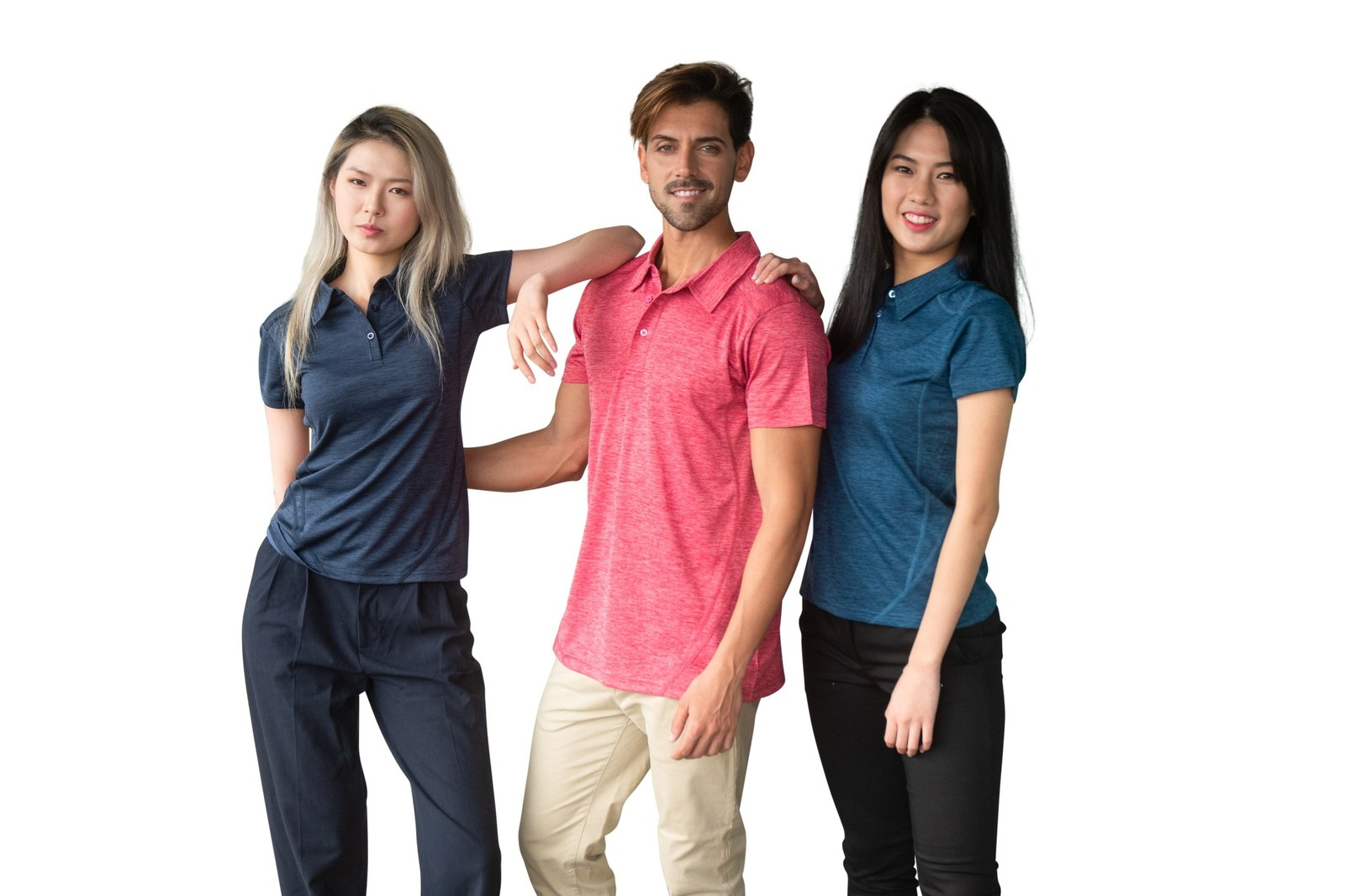 Mens' Challenger 100% polyester Polo