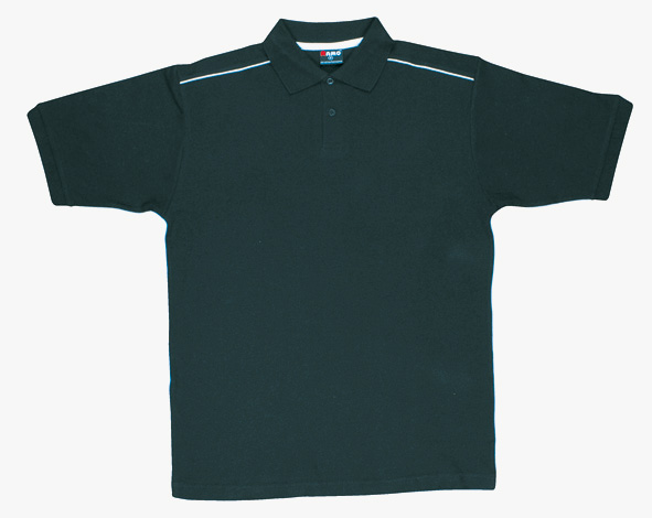 Mens 100% Cotton Pique Knit With Piping