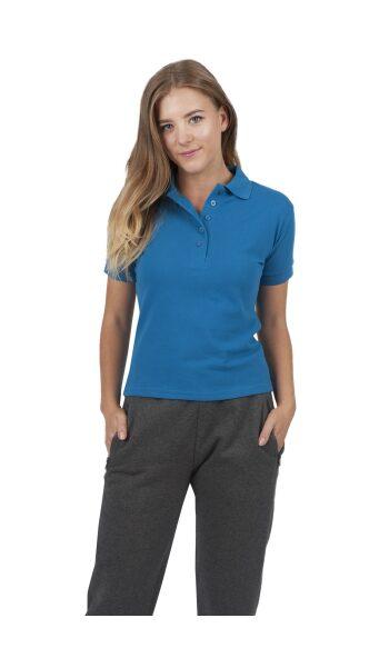 Ladies Cotton Pigment Dyed Polo