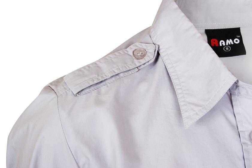 Ladies Military Long Sleeve Shirt