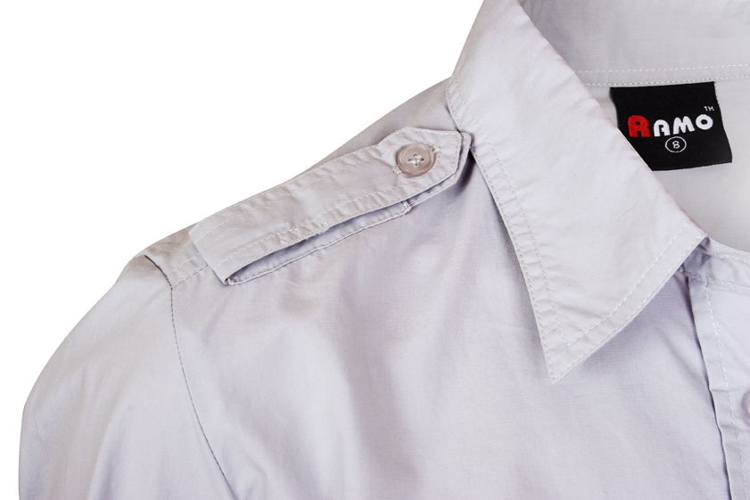 Ladies Military Short Sleeve Shirt