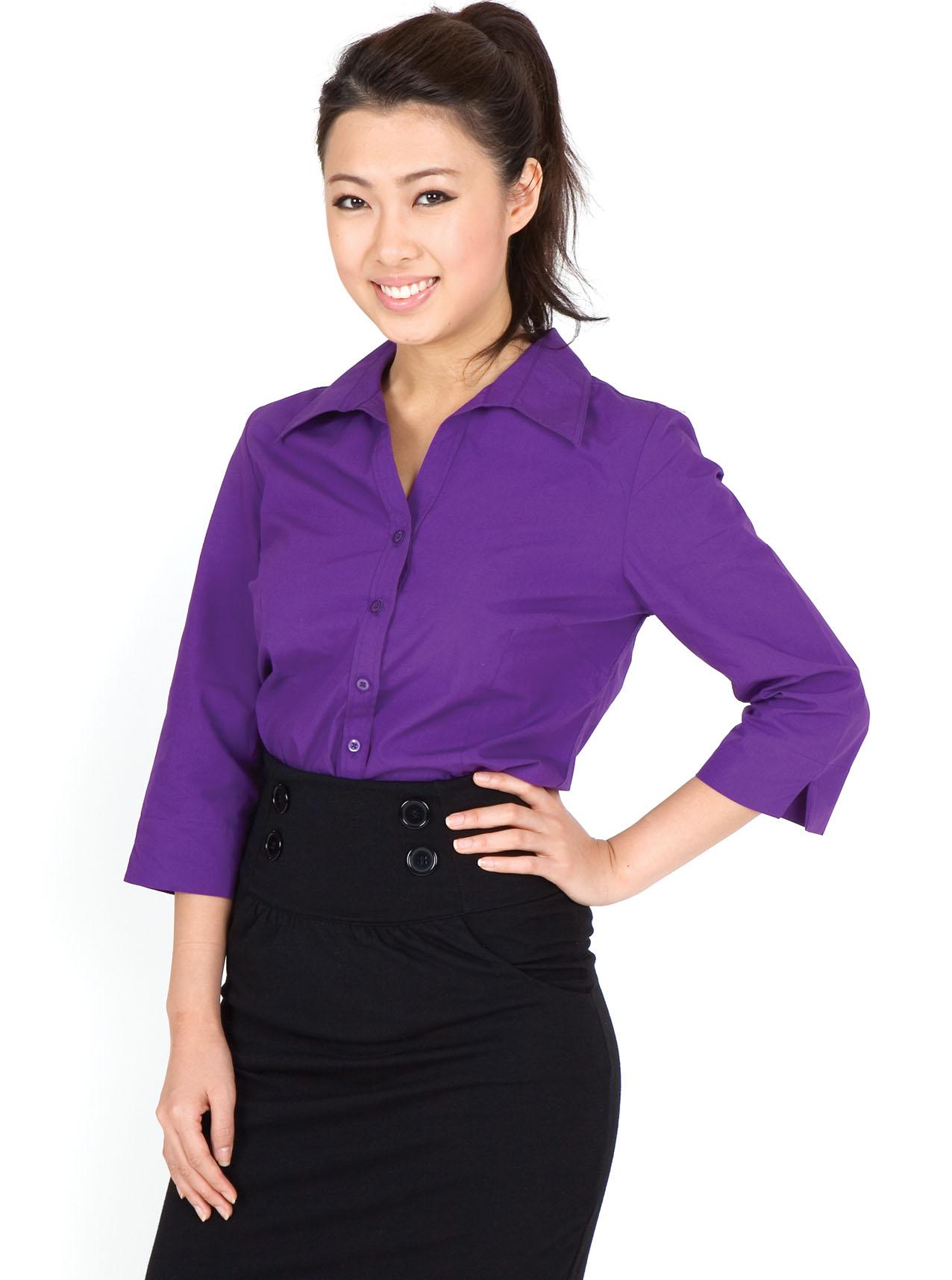 Ladies 3/4 Sleeve Shirts