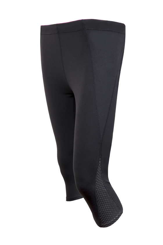 Ladies AVA Nylon Spandex 3/4 Leggings