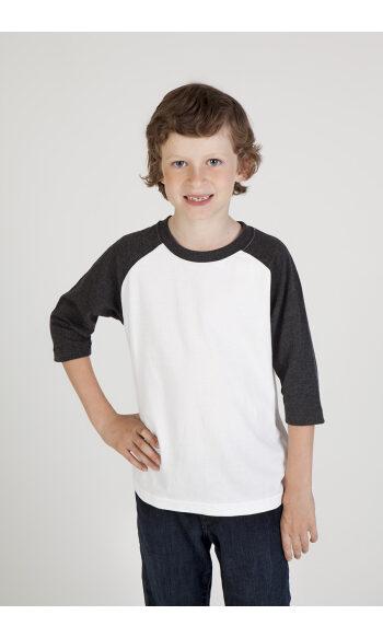 Kids 3/4 Raglan Sleeve T-shirt