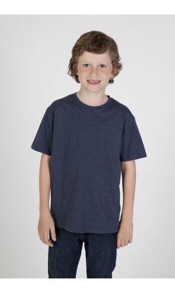 Kids Marl Crew Neck T-shirt