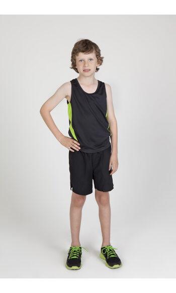 Kids' Challenger 100% polyester singlet