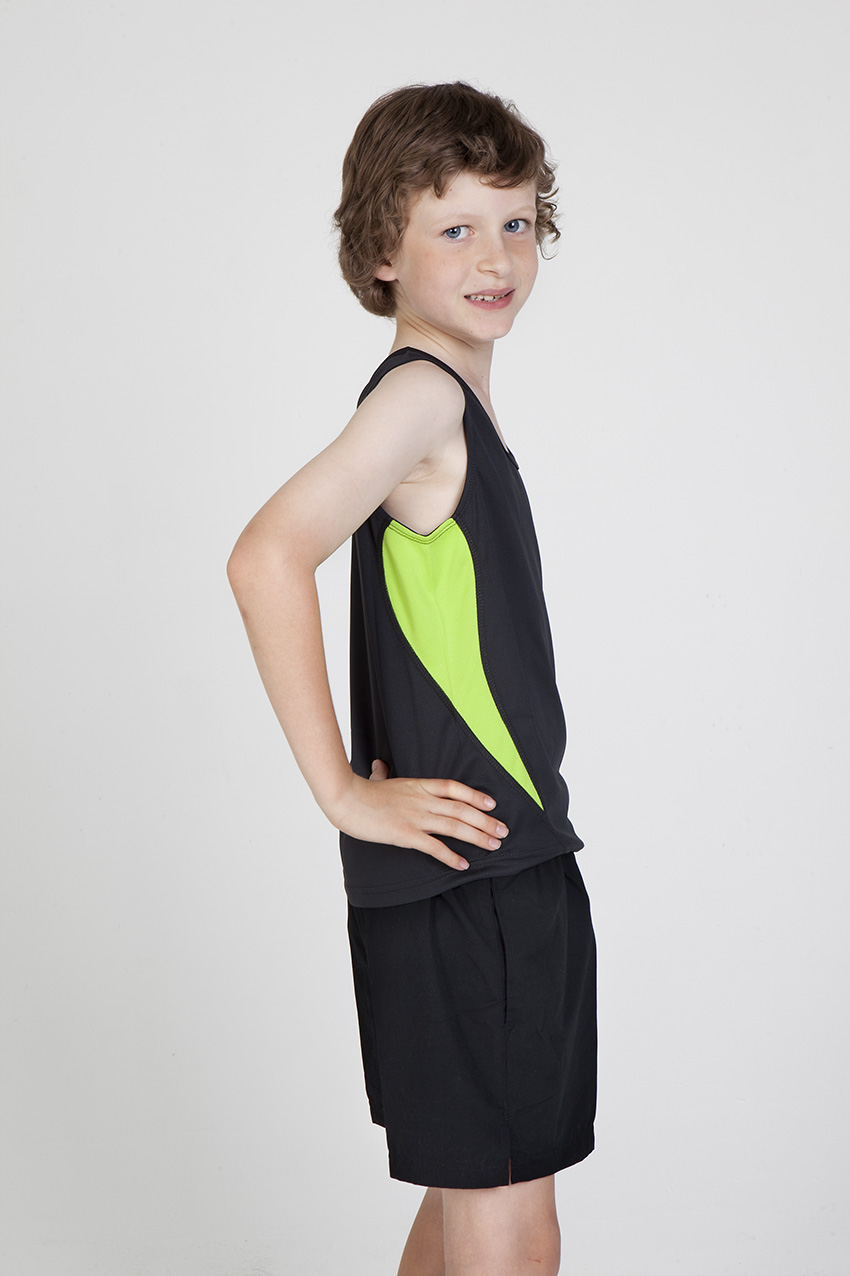 Kids Accelerator Cool-Dry Singlet
