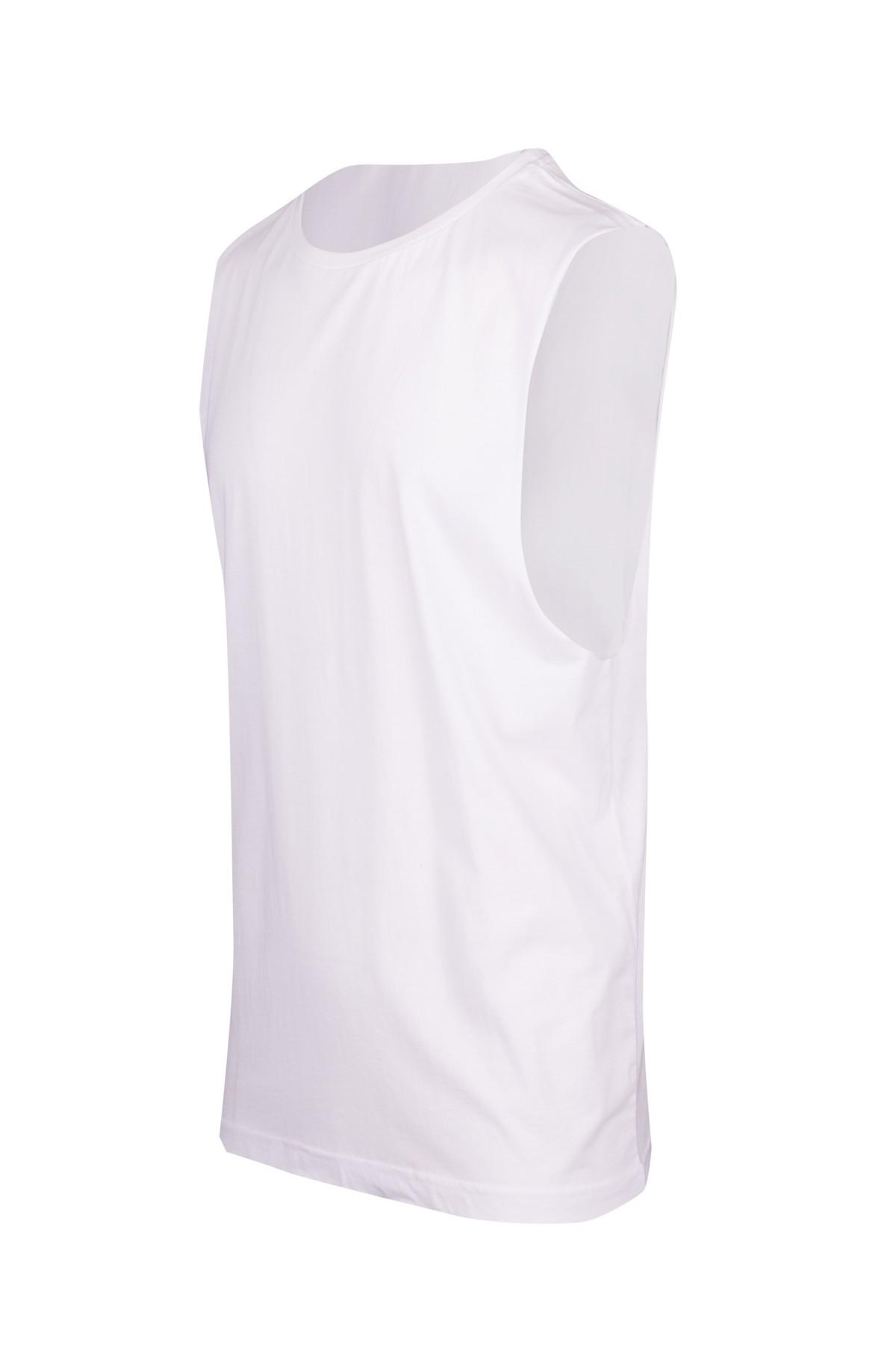 160gsm 100% combed cotton sleeveless tee
