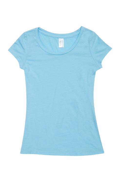 Ladies Cotton/Spandex T-shirt