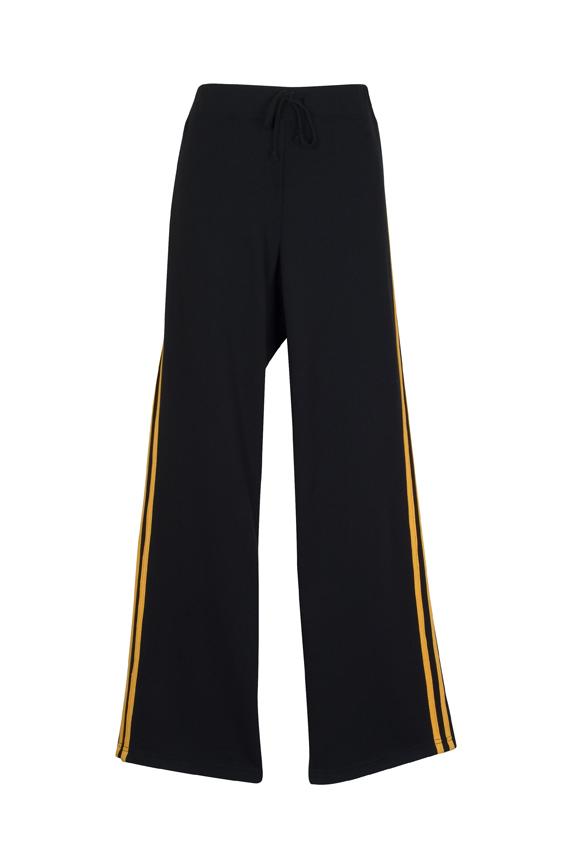 Ladies Striped Track Pants