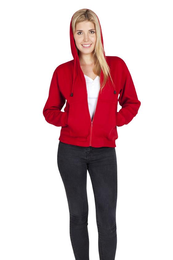 Ladies/Juniors Zipper Hoodies with Pocket